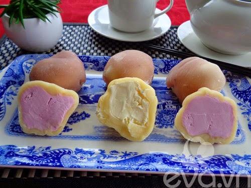Bánh trung thu kem lạnh Nhật Bản tự làm tại nhà2