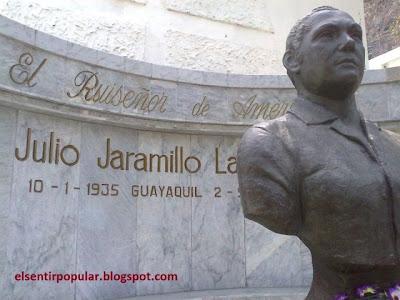 Julio Jaramillo, el ruiseñor de América, busto