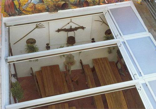 Instalaci n de techos m viles cerramientos en almer a 950 411 333 alumavel cortinas de - Techos de aluminio para terrazas ...