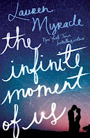book cover of The Infinite Moment of Us by Lauren Myracle
