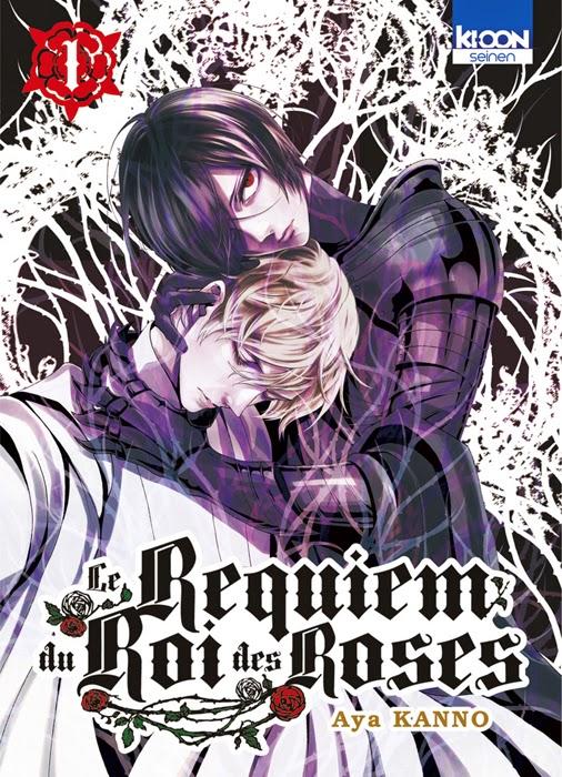 Actu Manga, Aya Kanno, Ki-oon, Le Requiem du Roi des Roses, Manga, Manga historique, Otomen,