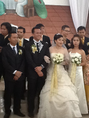 JOHNNY AND MINDY WEDDING. 30.4.2012