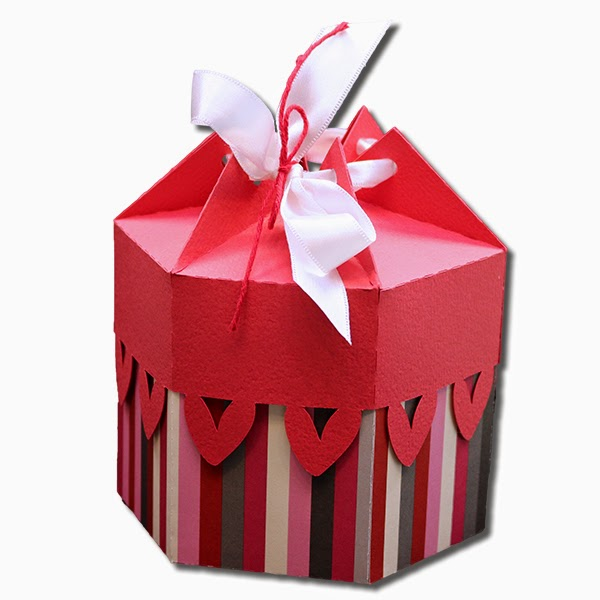 Bits Of Paper Multi Sided Gift Boxes With Lids