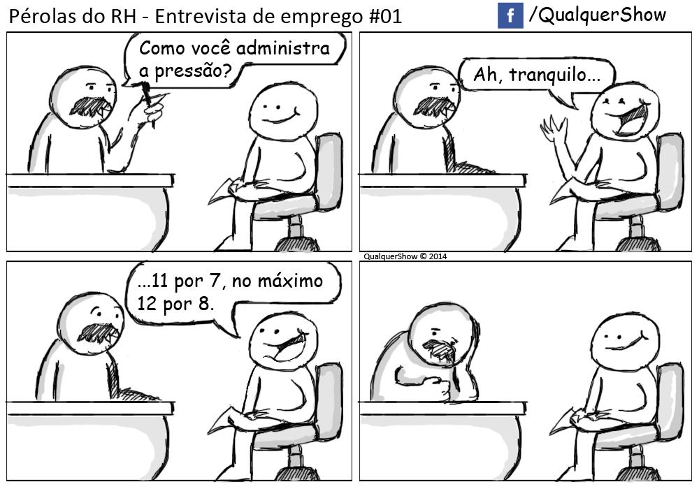 Pérolas do RH - Entrevista de Emprego #01 - QualquerShow