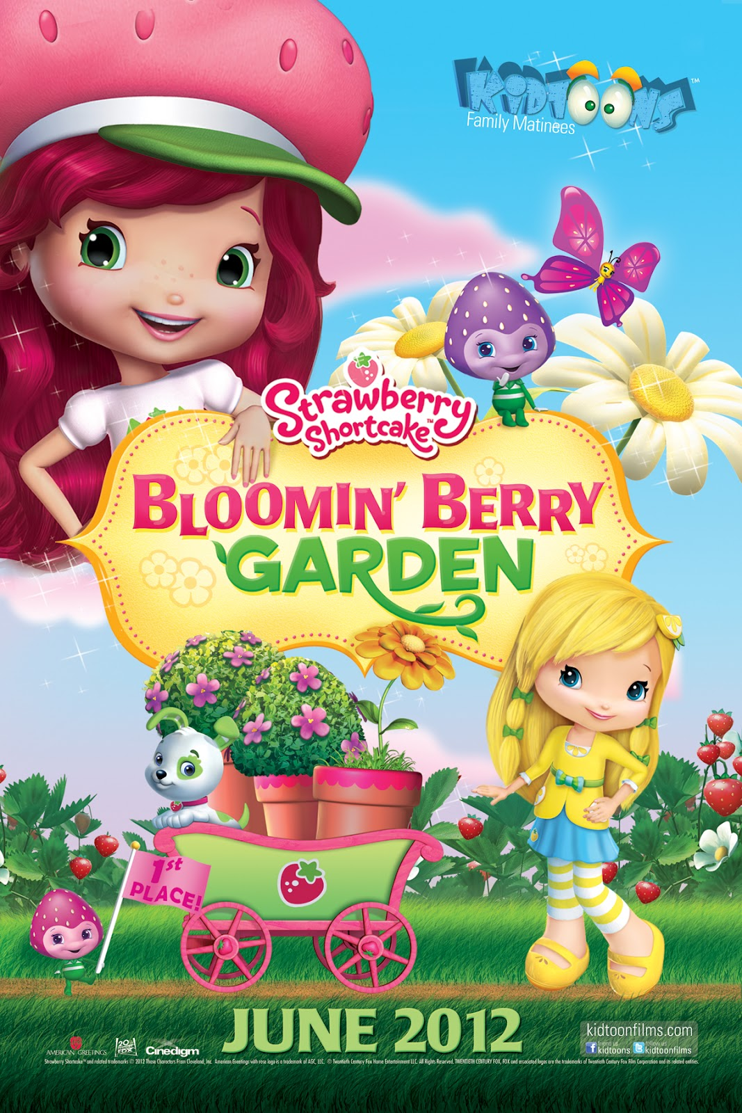 Camelot Frutillitas Bloomin Berry Garden