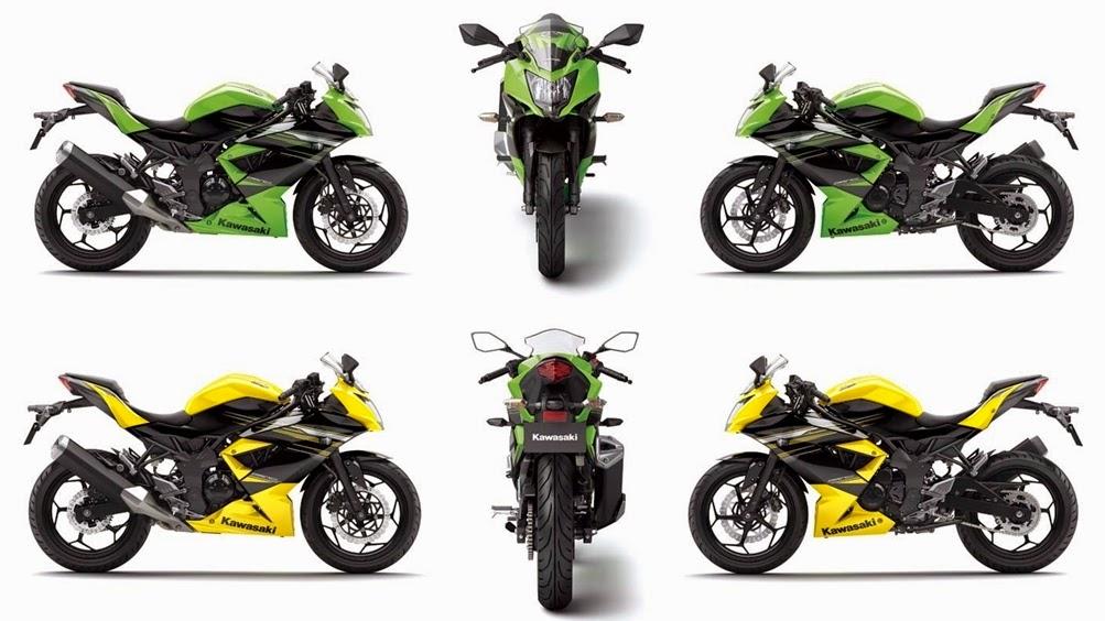 Foto Kawasaki Ninja RR Mono 250cc 2014 Terbaru Pilihan Warna