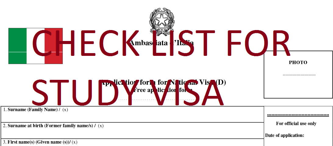 Italy Visa application requirements,Embassy,tourist ...