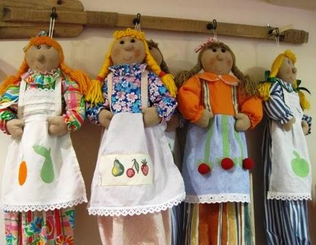 Muñecas para guardar pijama