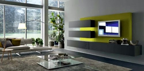 wall mounted modern TV cabinet by MisuwaEmme