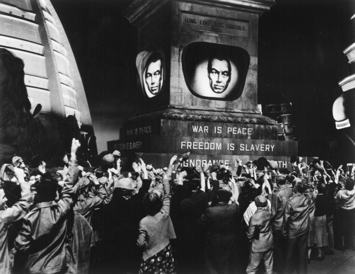 George Orwell and Surveillance in '1984'