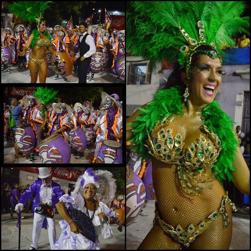 Carnaval. Desfile de Llamadas. La Fuerza.