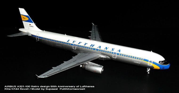 1/144 Airbus A321-100  LUFTHANSA