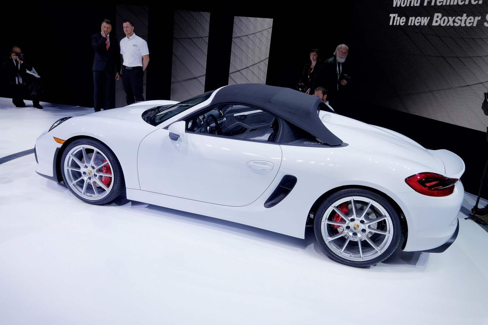 Porsche S Awesome Looking Boxster Spyder Will Earn Your