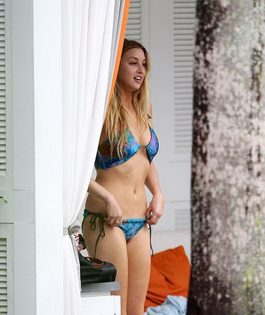 Whitney Port in a  Bikini at a Miami Pool