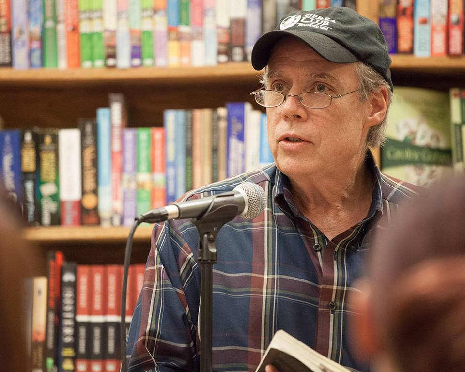 Reading at the Raven Book Store, Lawrence, Kansas