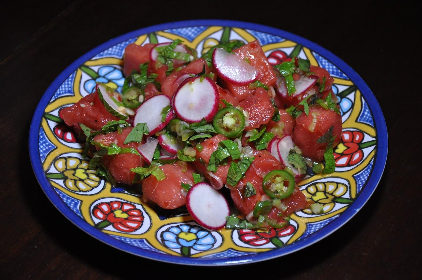 Slice of Rice: Thai-Style Radish and Watermelon Salad with ...