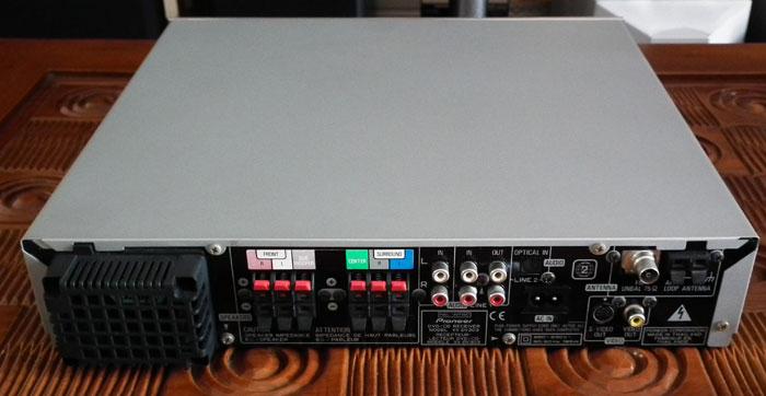 Lentera Akustika: Pioneer XV-DV303 (HTIB 5.1 Channel) Receiver Person