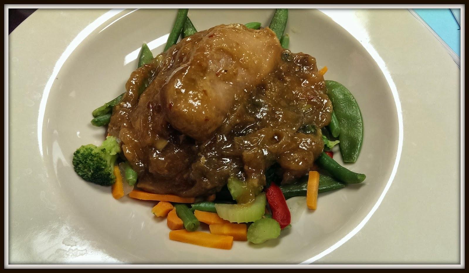 Spicy Sesame Honey Chicken