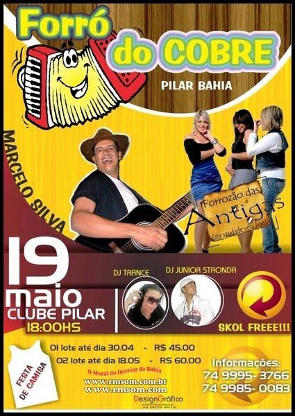 FORRÓ DO COBRE 2012 - PILAR_BA