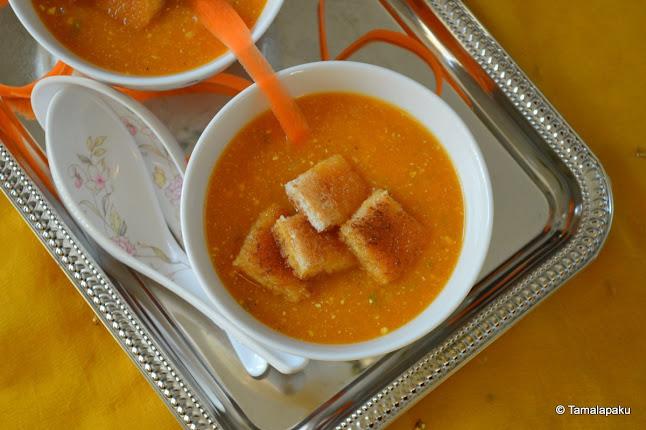 Carrot Fennel Soup