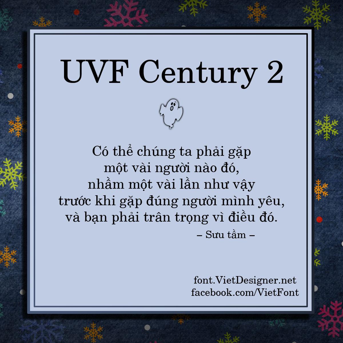 UVF Century 2
