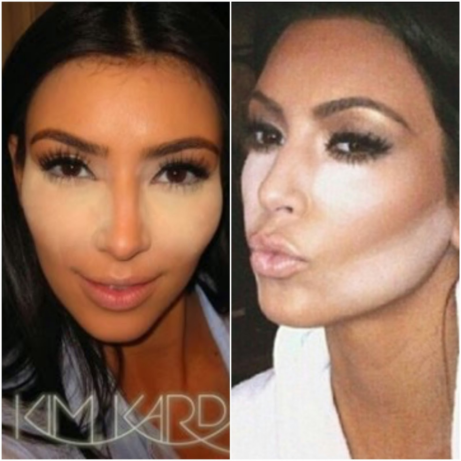 The Mysterious Powder In Celeb Contour Selfies Explained! Hattie Rainbow:  The Mysterious Powder In