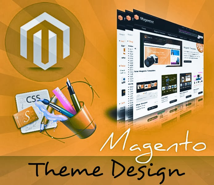 Magento theme design services