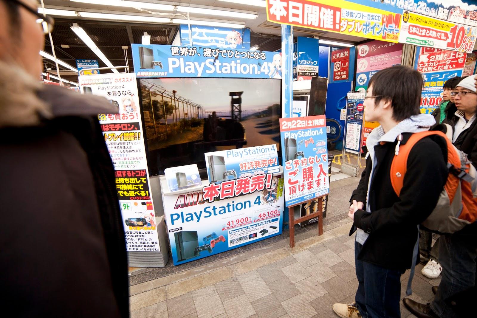 Cola para comprar PS4