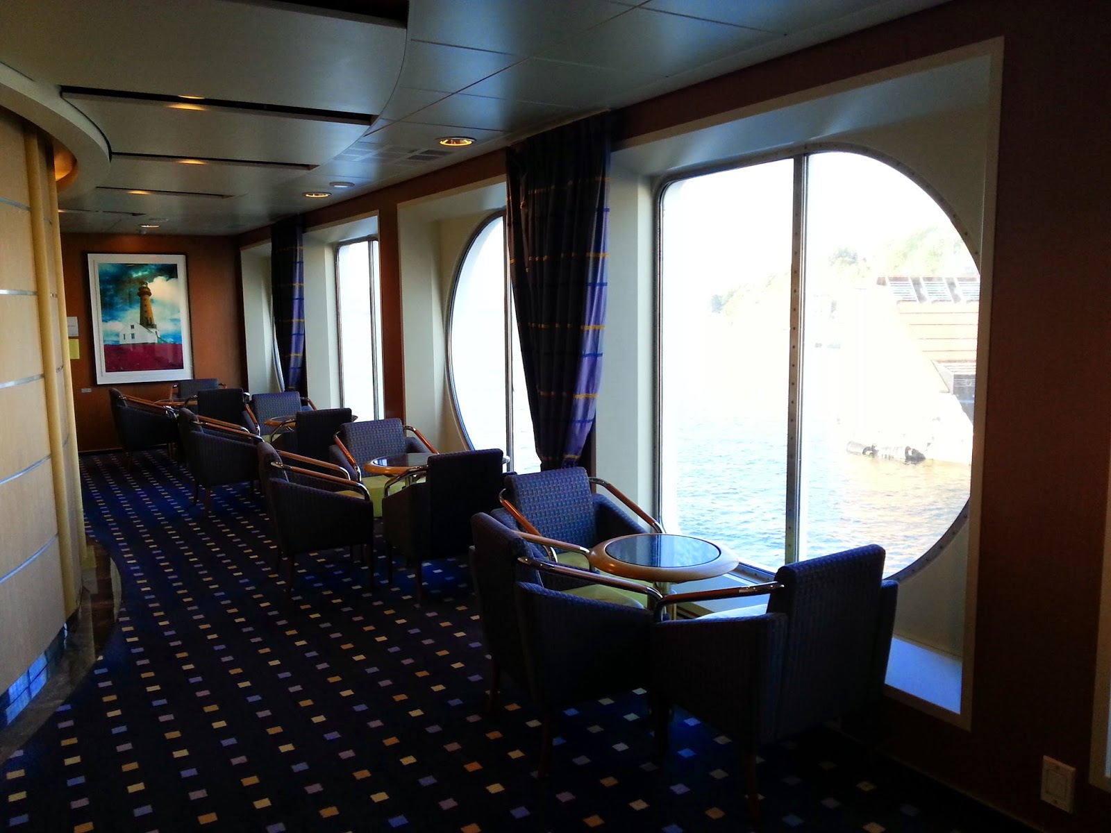 Hurtigruten MS Midnatsol - Seating Area