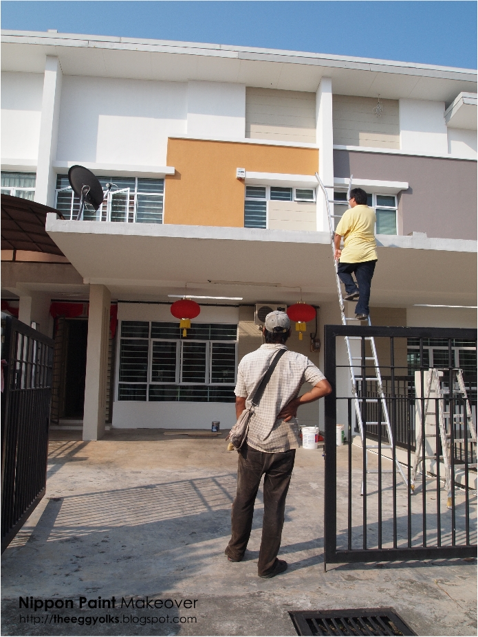Theeggyolks paint make over by nippon - Nippon paint exterior collection ...