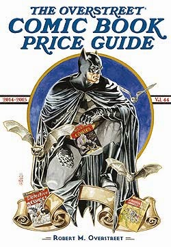 44th Edition of the Overstreet Comic Book Price Guide