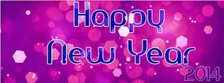 Happy new year 2014 timeline