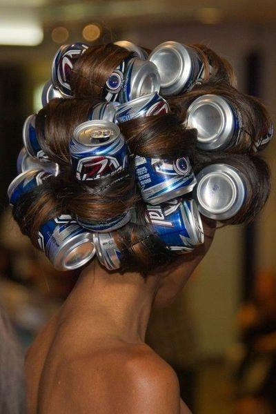 Cabelos - Rolos personalizados - cabelos com caracois