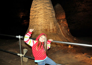 Tessa enjoyed her birthday trip to Onondaga Cave so much that we plan to visit other caves across Missouri this summer.