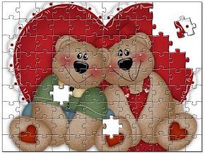 puzzle couple coeur