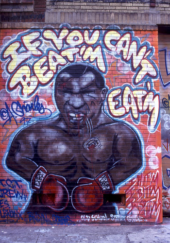 Murals and graffiti in new york city in the 1990 39 s for 2pac mural new york