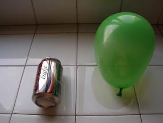 FQ Experimento casero: Carrera de latas