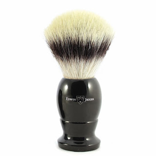 Edwin Jagger Synthetic Silvertip Shaving Brush