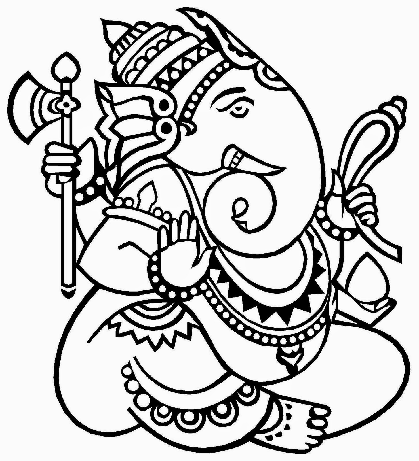 Shri ganesh sketch