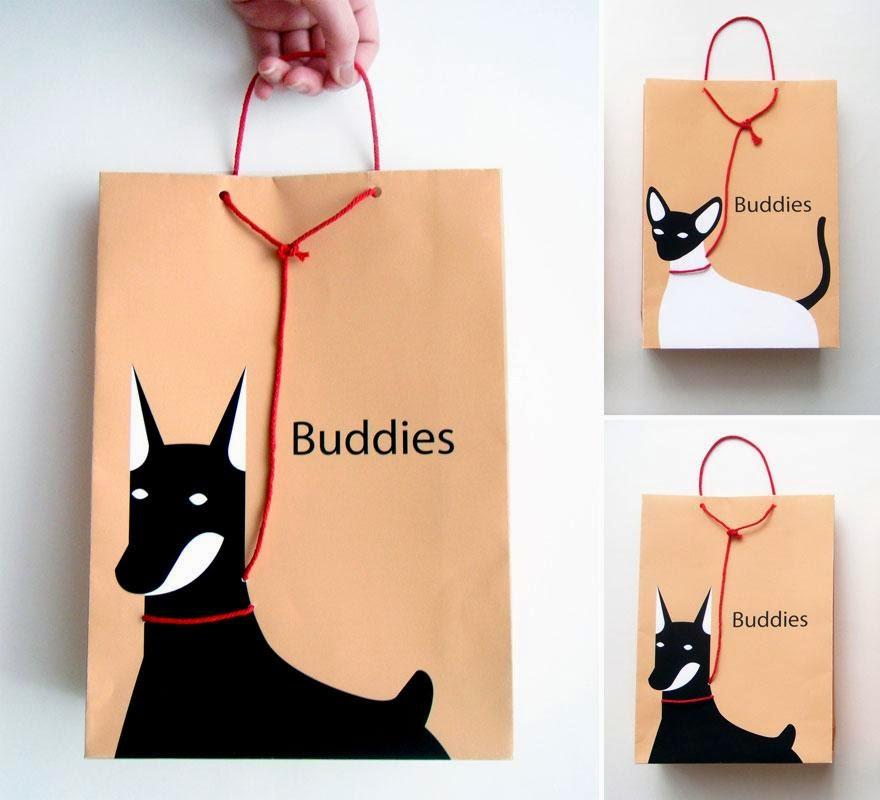 bolsas con diseños creativos