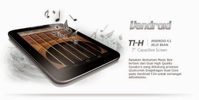 Spesifikasi dan Harga Advan Vandroid T1H