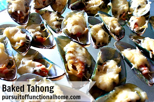 Baked Mussels (Tahong)