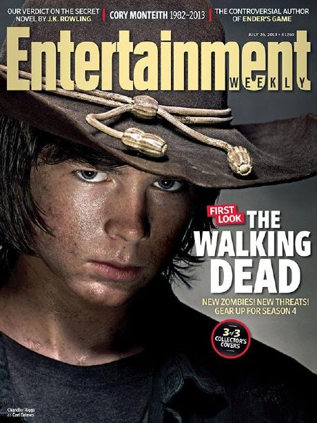 The Walking Dead: portada en EW y fotos
