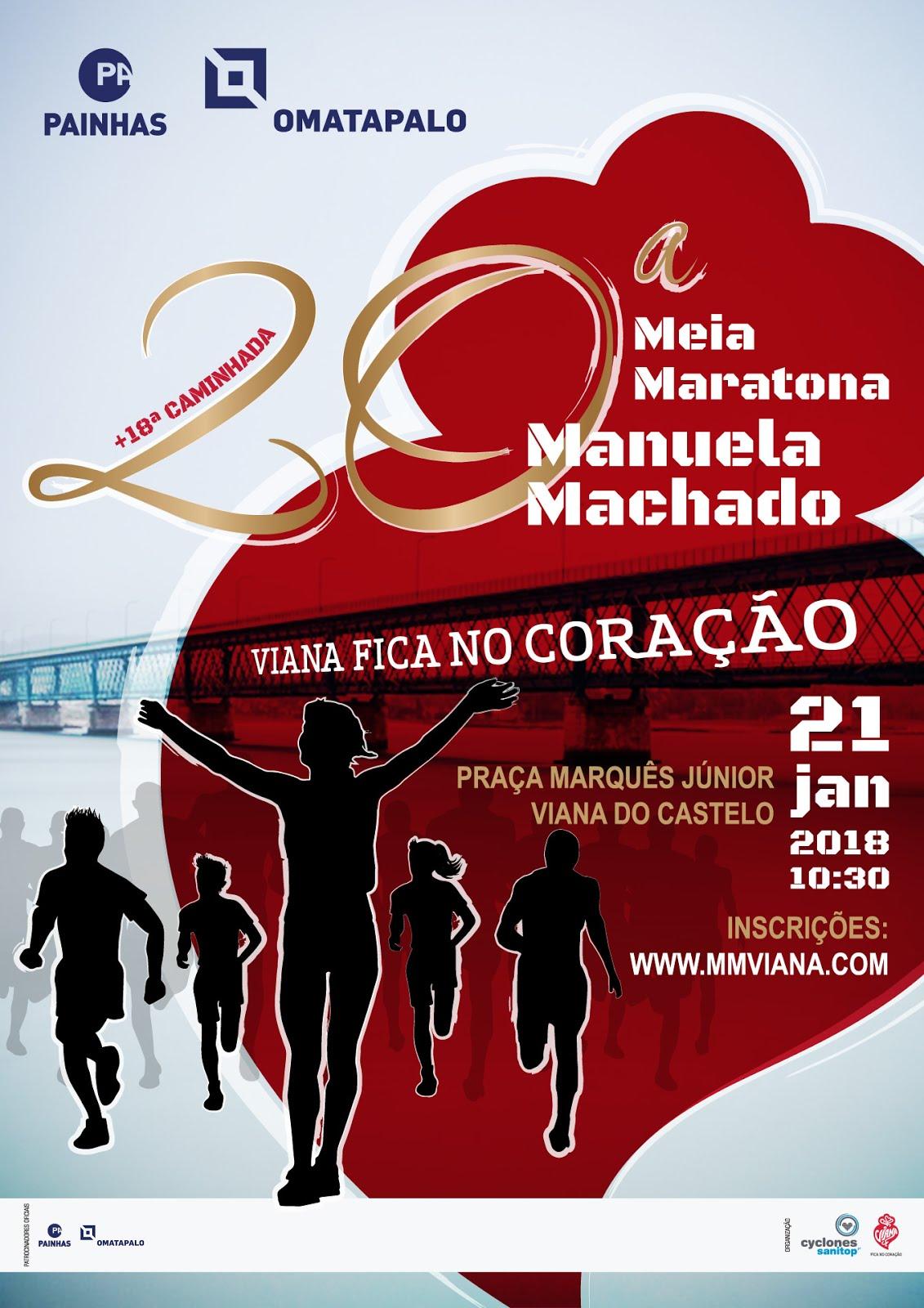 Meia Maratona Manuela Machado 2018