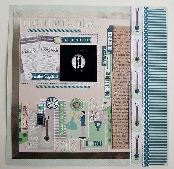 Wendy Sue Anderson Chickaniddy Date Night Layout