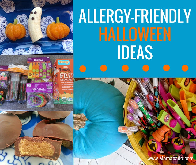 Allergy Friendly Halloween Ideas and the Teal Pumpkin Project