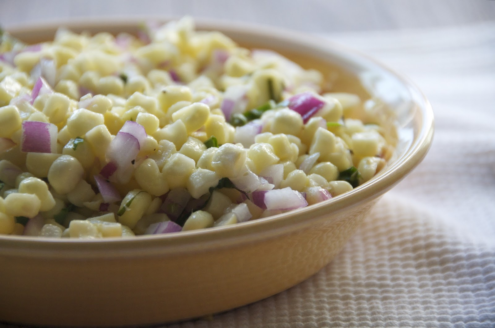 see you in the morning: summer corn salad