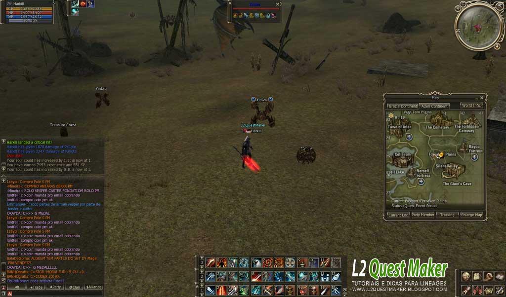 Quest Baium Raid Boss ~ L2 Quest Maker