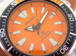 SEIKO DIVER SAMURAI ORANGE DIAL - SEIKO SRPC07 - AUTOMATIC 4R35 - MINT CONDITION