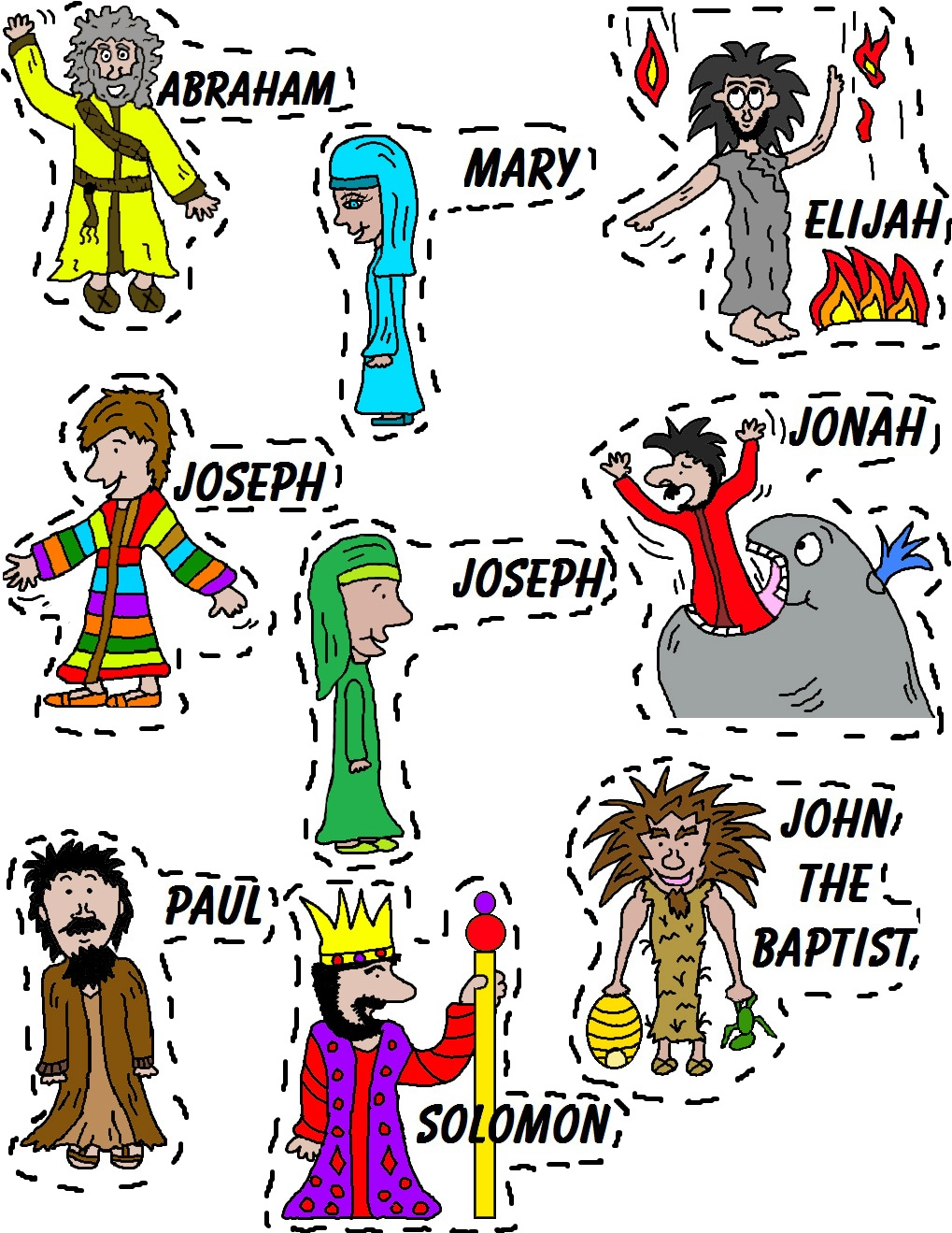 Printable Bible Stories For Kids